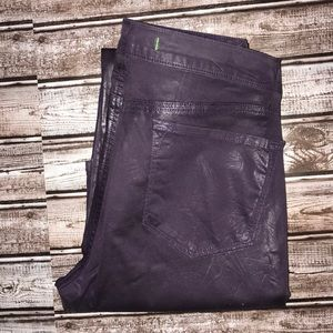 JBrand HiRise Purple Vegan Skinny Pants
